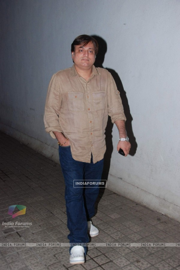 Manoj Joshi catch up on film Expendables at PVR, Juhu