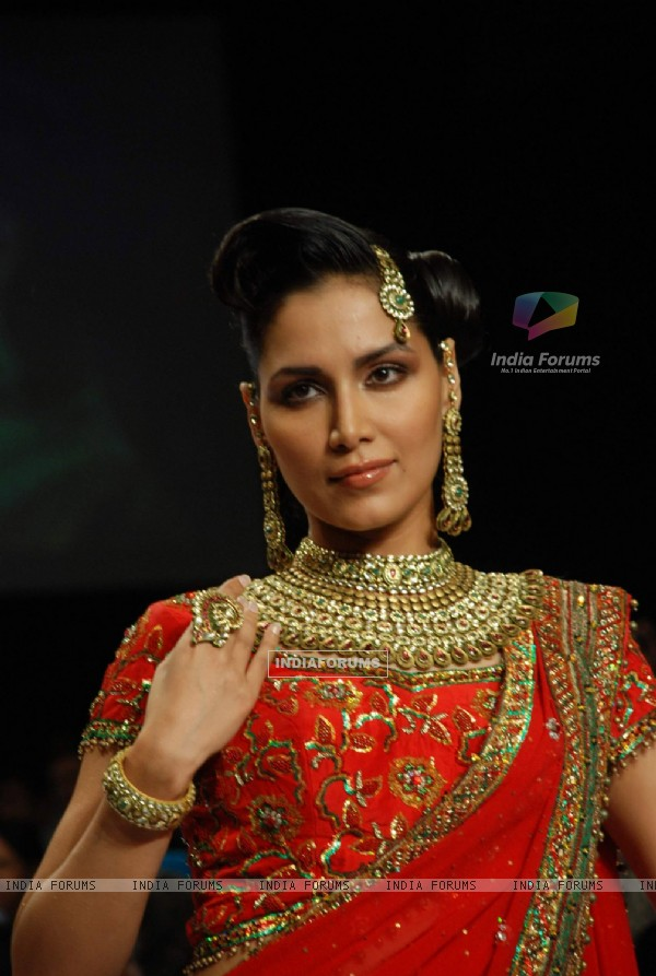 The Bridal Beauty of Laxmi Jewellers created a sensation at India International Jewellery week