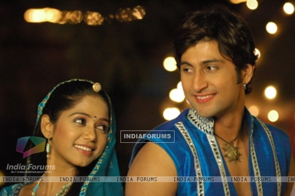 Still image of Suraj and Kanak