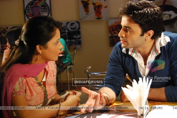Scene from tv show Bidaai