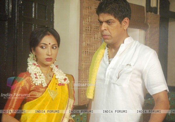 Still image of Anna and Subbu