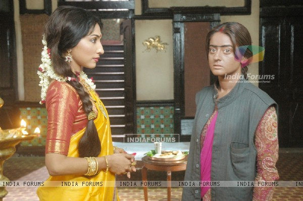 Scene from tv show Laagi Tujhse Lagan