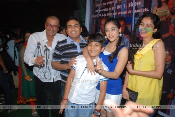 "Cast at ""Tarak mehta Ka Oolta Chasma"" Success Bash at Marimba Lounge"