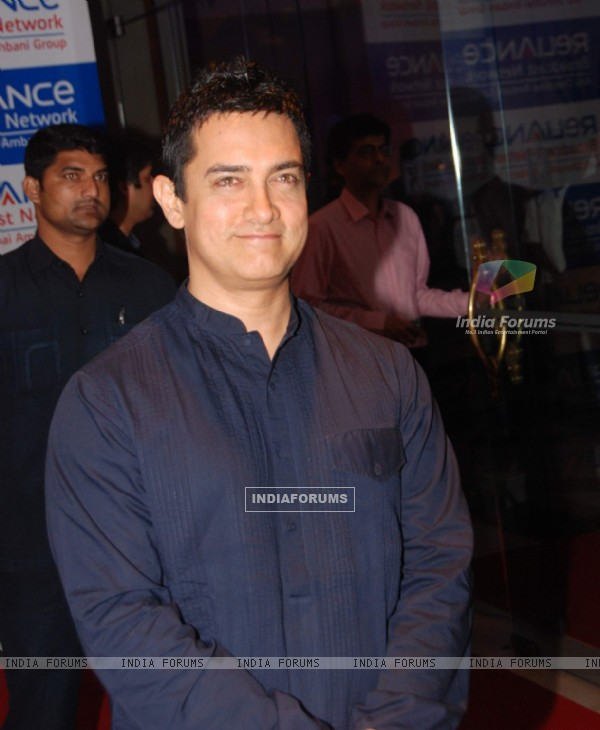 Aamir Khan at Reliance bash at JW Marriott