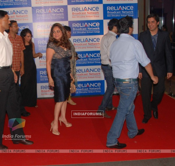 Tina Munim at Reliance bash at JW Marriott