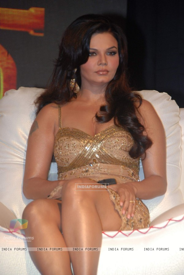 Rakhi Sawant at NDTV IMagine''s new reality show Rakhi Ka Insaf at The Club