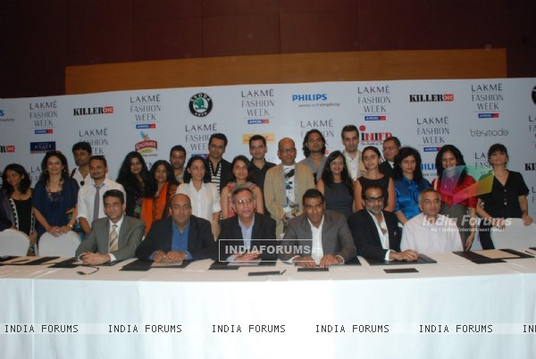Lakme Fashion Week press meet at Grand Hyatt