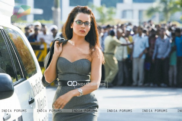 Kangana Ranaut in the movie Knockout