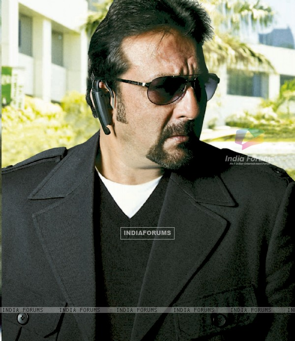 Sanjay Dutt as a lead actor in the movie Knockout