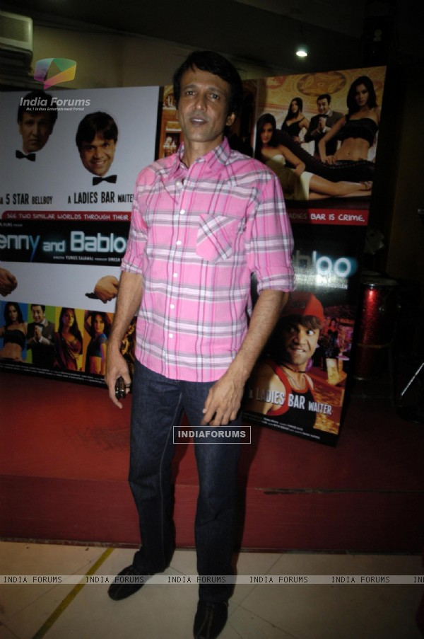 Kay Kay Menon at Glam Benny Babloo on location at Goregaon