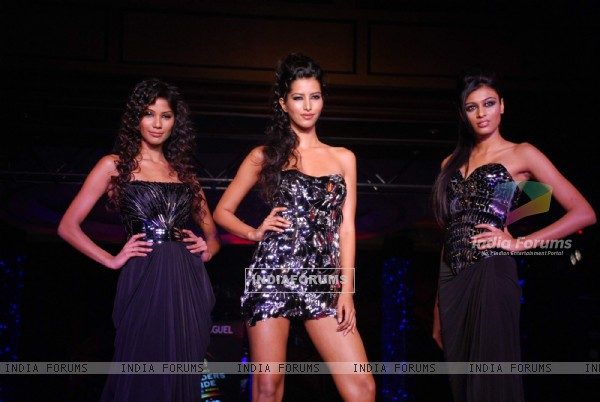 Models at Blenders day 2 at Taj Land's End