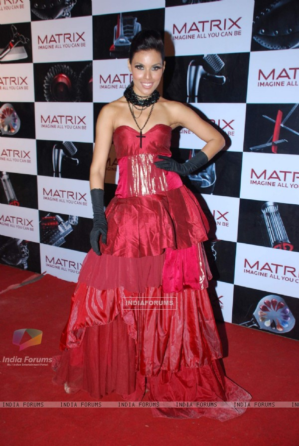 Top model on the ramp for Matrix show at Goregaon