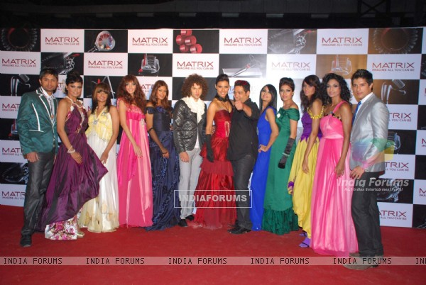 Top models on the ramp for Matrix show at Goregaon