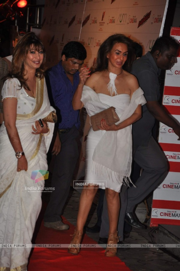 Dabangg premiere at Cinemax