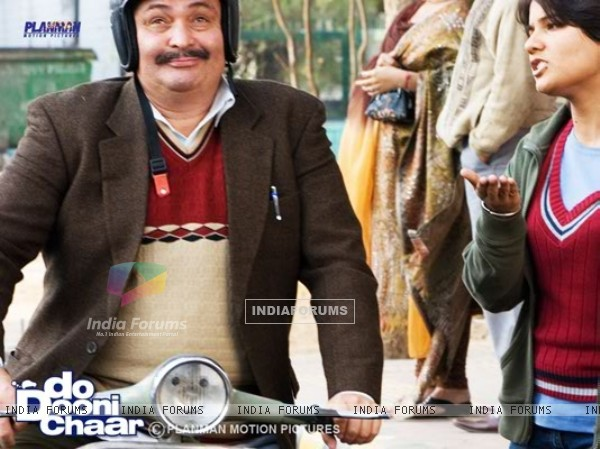 Rishi Kapoor in the movie Do Dooni Chaar