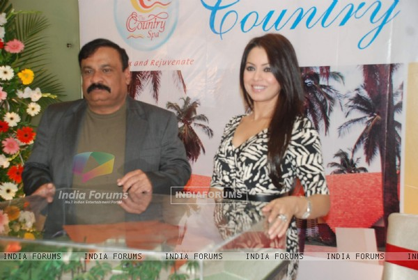 Mahima at Country Club Pan India spa launch at Andheri