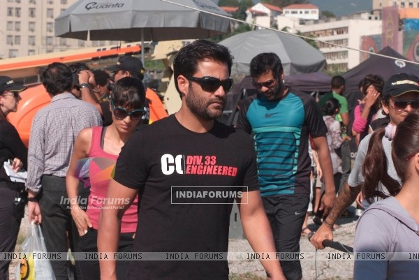 Abhishek Kapoor at Fear Factor - Khatron Ke Khiladi x 3