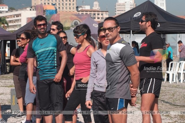 Rahul Bose at Fear Factor - Khatron Ke Khiladi x 3