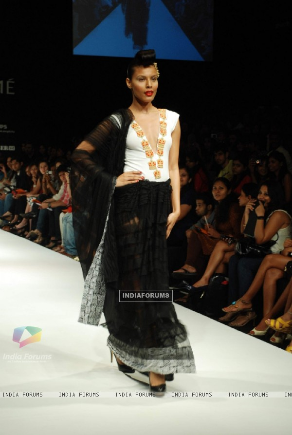 Masaba's design at the Lakme Fashion Week