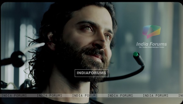 Hrithik Roshan in the movie Guzaarish