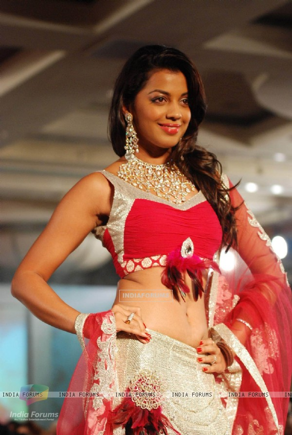 Mugdha Godse at Indian Princess 2011 at JW Marriott