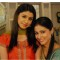 Neha Saroopa and Hina Khan