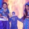 Hina Khan performing at SPA '10 with Karan Mehra