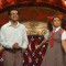 Juhi Parmar and Sachin Shroff at Hans Baliye child round