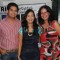 Karan Mehra and Nisha Rawal with Sonali Verma