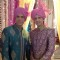 Sooraj Thapar, Sham Mashalkar on the sets of Sasural Genda Phool