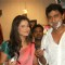 Ankita Lokhande With A Crew Member On The Sets Of Pavitra Rishta