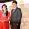 Mohnish Bahl & Kritika Kamra in Kuch Toh Log Kahenge k launch......