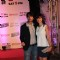 Hiten tejwani with wife gauri pradhan at chennai express success bash