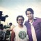 Saurabh Raaj Jain posing on the sets of his upcoming movie