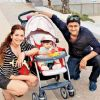 Manav and Shweta to walk the ramp with daughter Zahra!