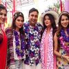 The Kant family go 'Hawaiian' in 'Bahu Hamari Rajni_Kant'.