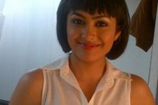 Mrunal Thakur shooting for a Marathi movie!
