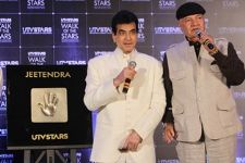 UTV Stars' 'Walk Of The Stars' felicitates the versatile and evergreen actor: Jeetendra!