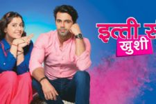 Neha to throw rangoli colors on Aman in Itti Si Khushi!