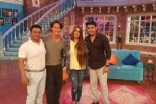 Tiger Shroff and Ahmed Khan on Comedy Nights With Kapil