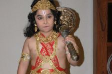 Hanuman is my superhero: Ishant Bhanushali