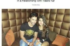 Are Karan Sharma and Tiaara Kar taking their relationship to the next level?
