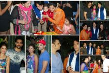 Who attended Sooraj Thappar's Son's Birthday Party?