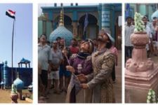 Independence Day celebration on the sets of Razia Sultan!