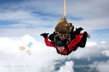 #SkyDiving: Stars shining high in the sky!