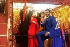 Drashti Dhami and Shabir Alhuwalia entered on a chariot at the Zee Rishtey awards!