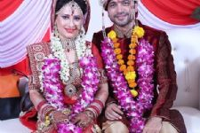 Hooked: Pooja Joshi got married to her fiance!