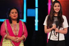 Bharti fulfils her hairdresser's dream on 'Comedy Nights Bachao'..!