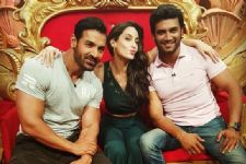 Look who joined John Abraham on 'Comedy Nights Bachao'!