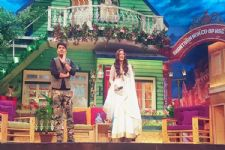 The team of 'Sarabjit' on 'The Kapil Sharma Show'..!